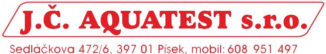 Aquatest JČ